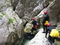 Canyoning in der Nevidio-Schlucht